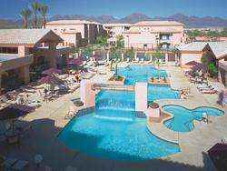 Scottsdale Villa Mirage Resort Building and pool