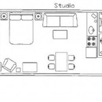 Stoneridge Resort Blanchard Coeur D'Alene Idaho Studio Floorplan