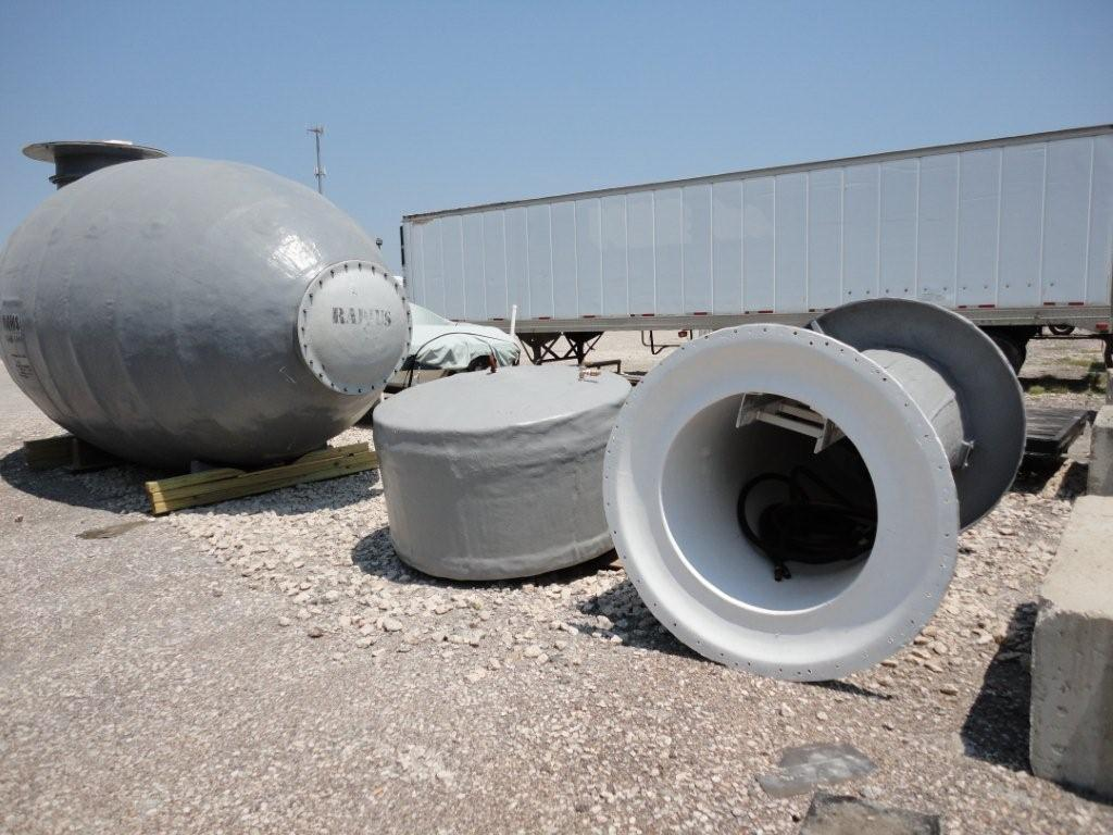 Radius Engineering P10 Disaster Storm Bomb Shelter For Sale