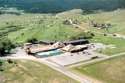 Aerial MONTANA   Fairmont Hot Springs and Estates Condominiums Resort